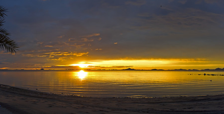 murcia: Sunrise at seaside Murcia Spain