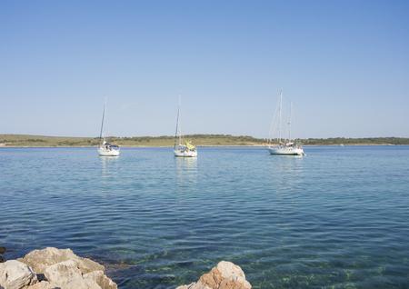 Port de Fornells - Menorca - Spain - Boats at the harbor