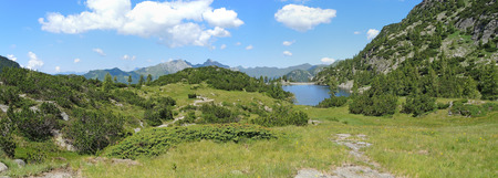 Orobie Alps - Beak artifical lake - Twin Lakes Area - Carona - Italy