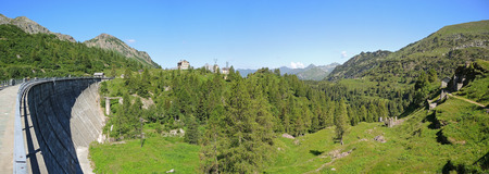 timelapse: Orobie Alps - Lakes Gemeli (Twin Lakes) dam - Twin Lakes Area - Carona - Italy