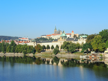 Prague is the capital of the Czech Republic. political and cultural center of Bohemia. Its historic center was included in the Unesco World Heritage. the largest ancient castle in the world.