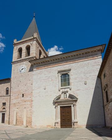 Spello, Italy. The church of Santa Maria Maggiore