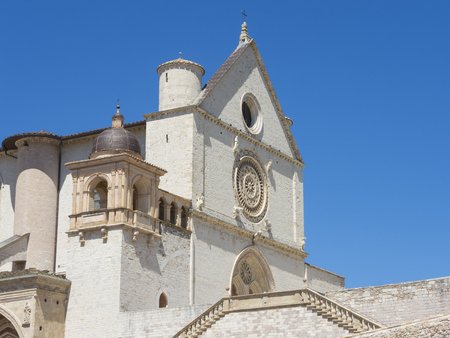 francis: Assisi, Italy, one of the most beautiful small town in Italy. The Basilica and the Sacred Convent of Saint Francis
