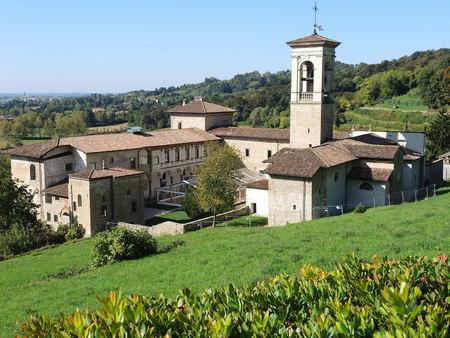 The Former Monastery of Astino - Bergamo, located at the Astino Valley, part of the Bergamo Hills Regional Park