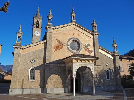 Fiorano al Serio, Bergamo, Italy. The main church of Saint George