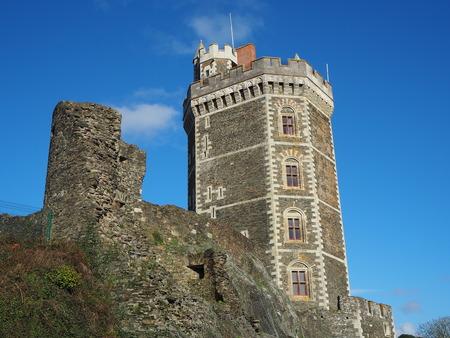The medieval castle of Oudon, Loire Atlantique departement, France Editorial