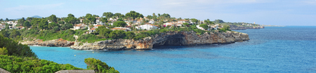Cala Anguila with a beautiful bay, Porto Cristo, Majorca, Spain