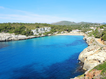 Cala dEste, Cala Romantica, Porto Cristo, Majorca, Spain