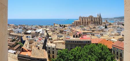 Palma de Mallorca, Spain. The gothic Cathedral of Santa Maria