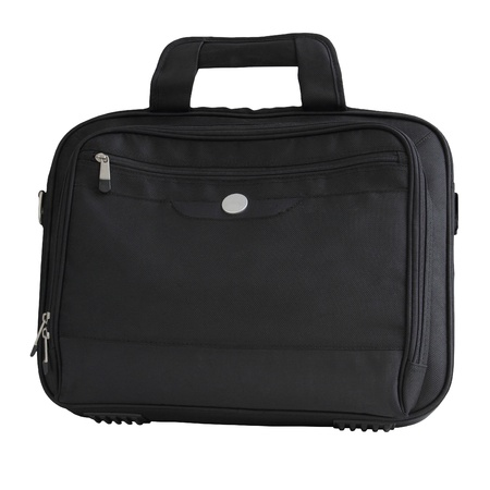 attache: Laptop bag isolated on a white background