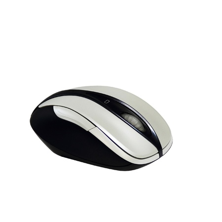 Bluetooth wireless mouse isolated over white background