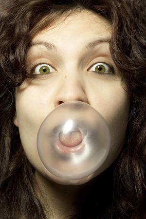 bubblegum: Girl with Bubblegum