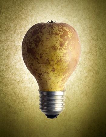 Pear Light Bulb Stock Photo - 7232842