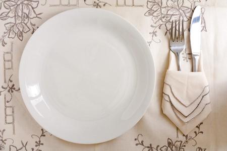 銀製の皿 写真素材