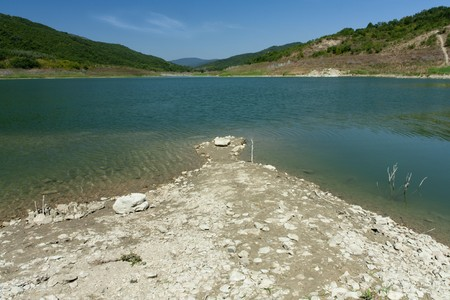 basilicata: Lake of Acerenza, Basilicata