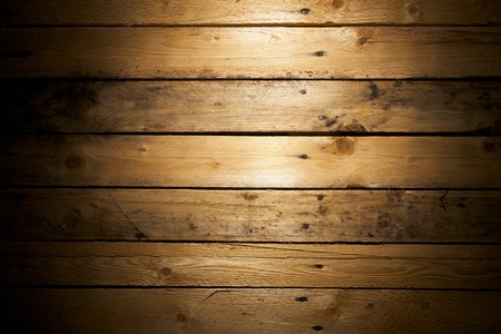 knotting: Pine Wood (Deal) Texture with Vignette Stock Photo