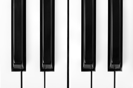Piano Keys Close Up Stock Photo - 10393618