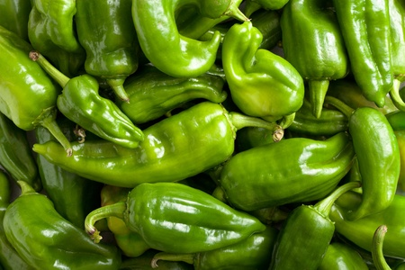 bell peppers: Green Bell Peppers