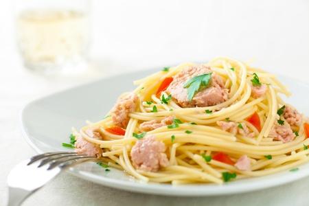 ツナのスパゲッティ