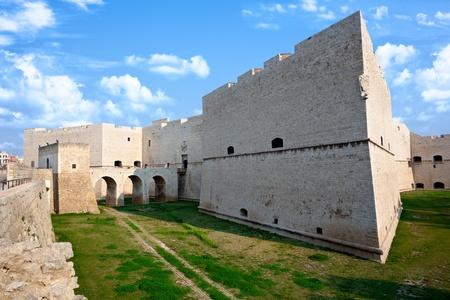 swabian: Norman-Swabian Castle of Barletta  Annunziata Bastion  Apulia, Italy  Stock Photo