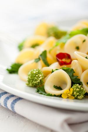 rapa: Orecchiette with Cime di Rapa, a Traditional Dish from Apulia