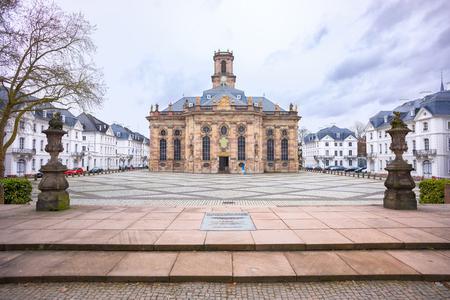 ルートヴィヒスキルシュ、サルブリュッケンのプロテスタント教会、ドイツ