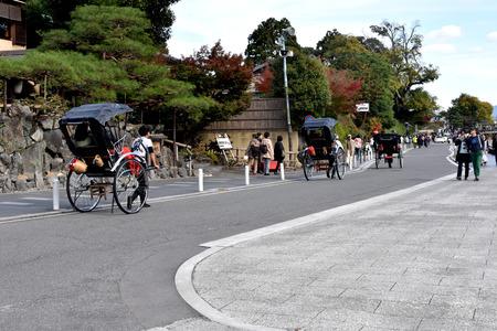 rikscha: Japan rickshaw Editorial