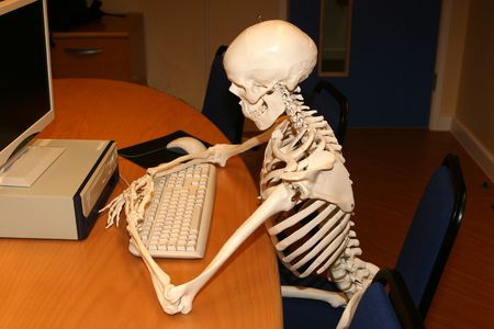 A keyworker working long hours