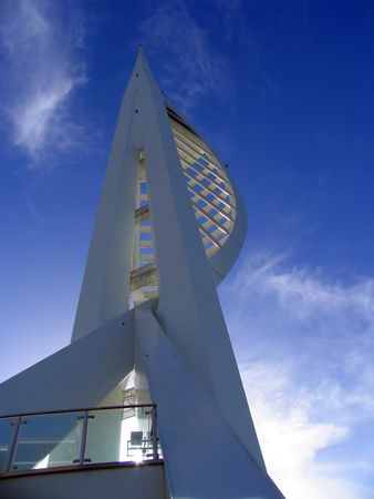 The Spinnaker Tower at Portsmouth, England