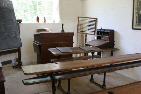 An old classroom from 1895