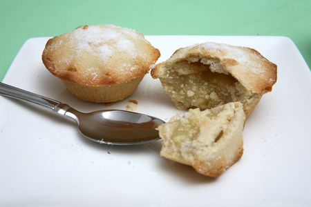 Two individual apple pies Stock Photo - 5602127