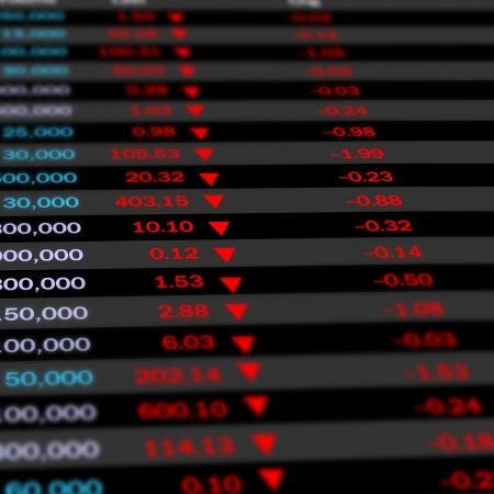 Stocks fall because the economy is bad.
