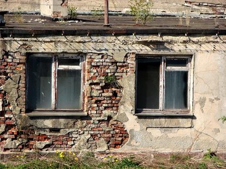 Ruined house photo