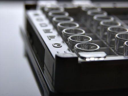 Microtitration plate photo
