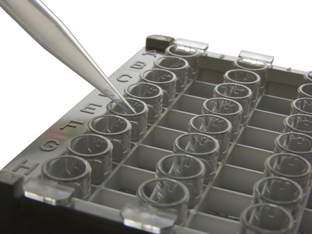 Microtitration plate photo