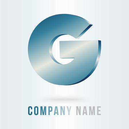 typo: g letter design