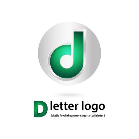 d: d letter design