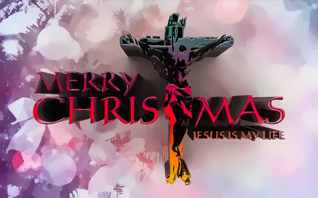 beginnings: merry christmas background Stock Photo