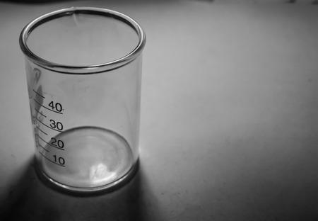glas: Beaker grayscale