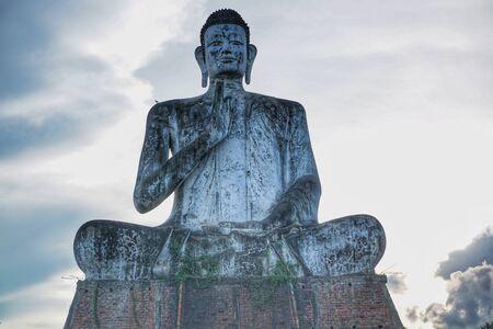 Huge buddha statue in Cambodia