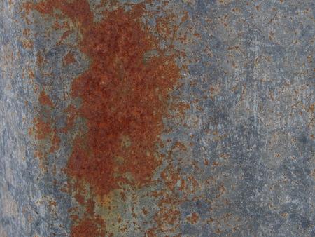 Rusty zinc background photo