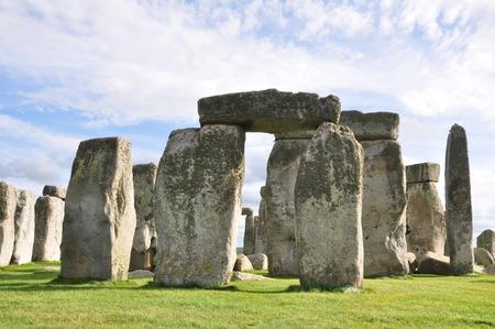 wiltshire: Stonehenge in Wiltshire, England. Stock Photo