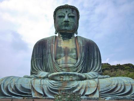 kanagawa: Giant Buddha in Kamakura, Kanagawa Prefecture, Japan.