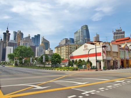 reflexologie plantaire: SINGAPOUR - 9 mai 2015: Le KENKO Wellness Spa - La plus grande chaîne de Réflexologie des pieds et Spa à Singapour à la jonction de South Bridge Road avec Upper Cross Street dans le quartier chinois de Singapour. Éditoriale