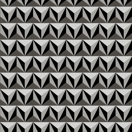 Geometric seamless monochrome background with triangles. For the design of packaging, wallpaper, fabric, web. Stock fotó - 97030018