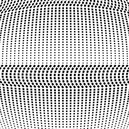 Abstract halftone pattern. Vector halftone background of squares for design banners, posters, business projects, pop art texture, covers. Geometric black and white texture.
