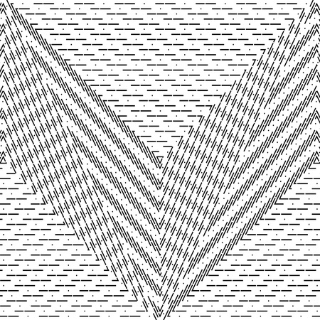 Abstract black and white striped background. Monochrome geometric pattern for  design of banners, posters, covers, websites.