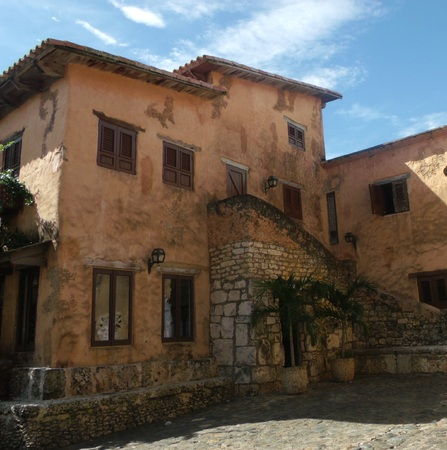 European old house windows model