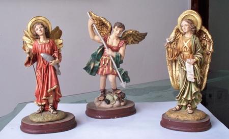 Three Archangels: Archangel San Miguel, San Rafael and San Gabriel