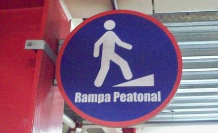 pedestrian ramp